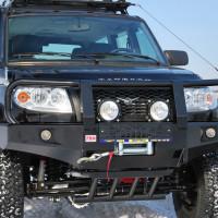 Бампер передний РИФ УАЗ Patriot с доп.фарами (060-10350)